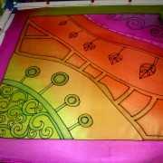 lila-zöld-szegelyes-selyemkendo