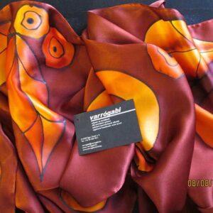 narancs-bordo-selyemsal
